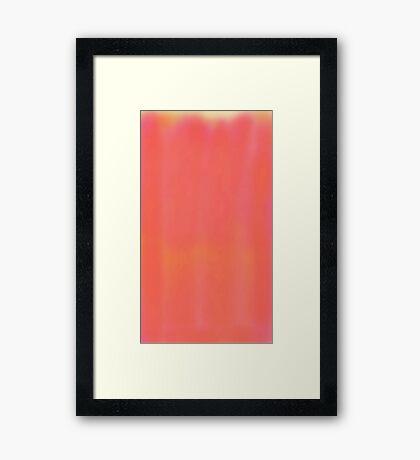 peach love Framed Print