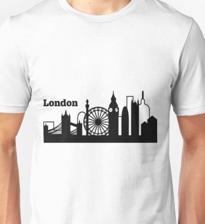London - Skyline Unisex T-Shirt