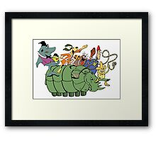 Tundro & Friends Framed Print
