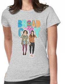 broad city Womens Fitted T-Shirt