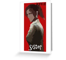 The Redfields-Sister Greeting Card