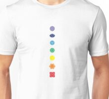 The Seven Chakras Unisex T-Shirt
