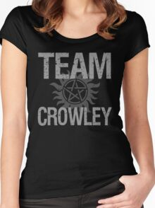 Supernatural Team Crowley Women's Fitted Scoop T-Shirt