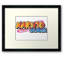 Naruto Shippuden  Framed Print