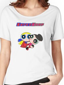 Super(puff)Corp  Women's Relaxed Fit T-Shirt