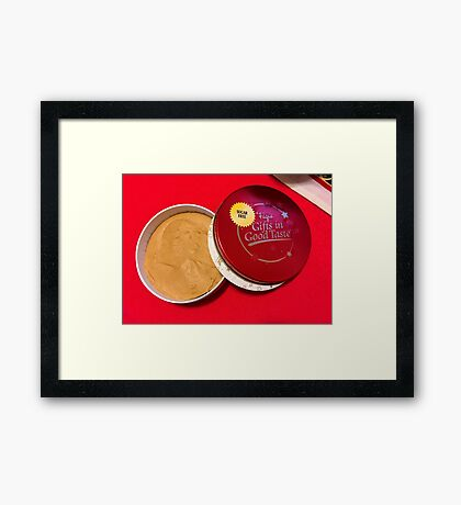 Peanut Butter Chocolate Fudge, For The Rest Of Us...... Framed Print