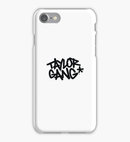Taylor Gang  iPhone Case/Skin