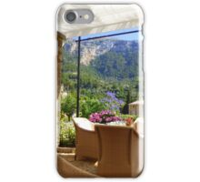 A Shaded Corner of Paradise iPhone Case/Skin