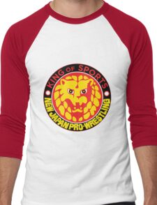 NJPW Men's Baseball ¾ T-Shirt