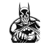 Rage of the Bat Photographic Print