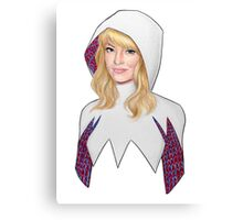 Gwen Stacy- Spider-Woman Canvas Print