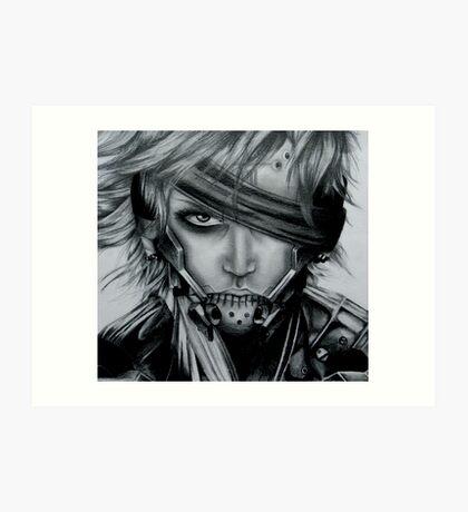 Raiden (Jack) Metal Gear Rising Art Print
