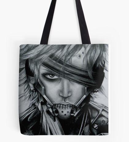 Raiden (Jack) Metal Gear Rising Tote Bag