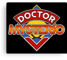 DOCTOR WHO - MYSTERIO Canvas Print