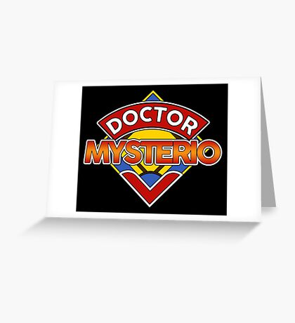 DOCTOR WHO - MYSTERIO Greeting Card