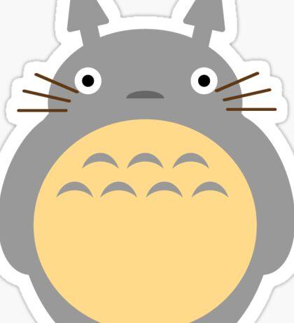 "TOTORO Flat Design ""My Neighbor Totoro"" Ghibli Sticker"