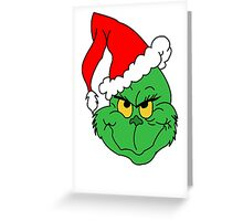 Grinch Greeting Card