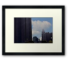 Downtown Columbus Ohio Framed Print