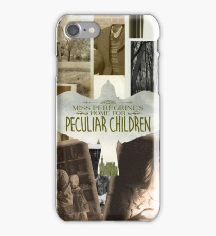 Miss Peregrine's Home for Peculiar Children Graphic iPhone Case/Skin