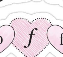 Beauvoir's B.F.F. Sticker