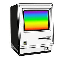 MAC ONE RAINBOW Photographic Print