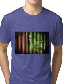 Rusty Fence Tri-blend T-Shirt