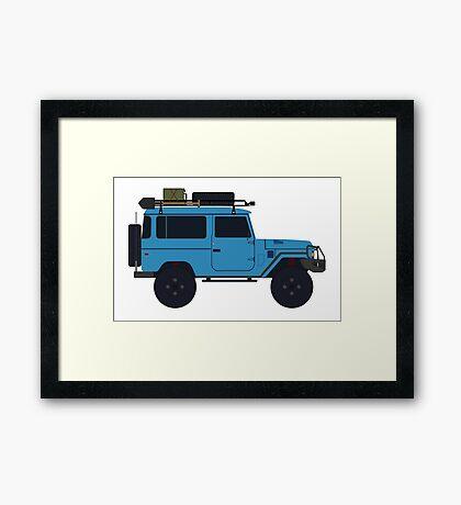 Toyota land Cruiser FJ40  Framed Print