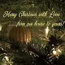 Merry Christmas with Love  by Rebecca Bryson