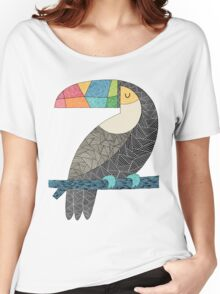 Tucan chilling T-shirt femme coupe relax