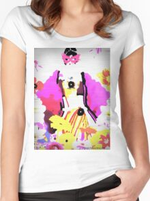 Gorgeous Geisha Women's Fitted Scoop T-Shirt