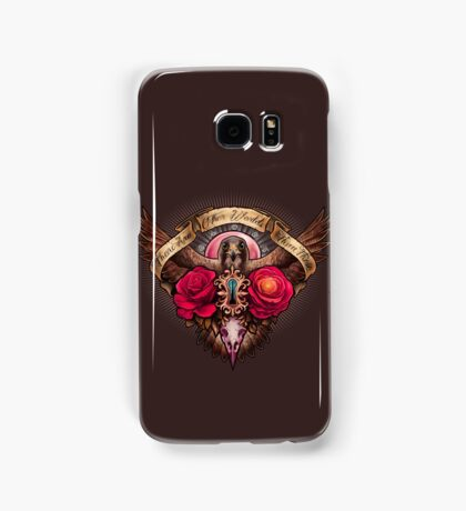 There Are Other Worlds Than These Samsung Galaxy Case/Skin