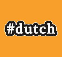 Dutch - Hashtag - Black & White by graphix