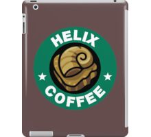 Helix Coffee ~ Color iPad Case/Skin