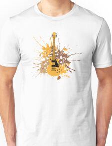 Music Band Guitar Art Unisex T-Shirt