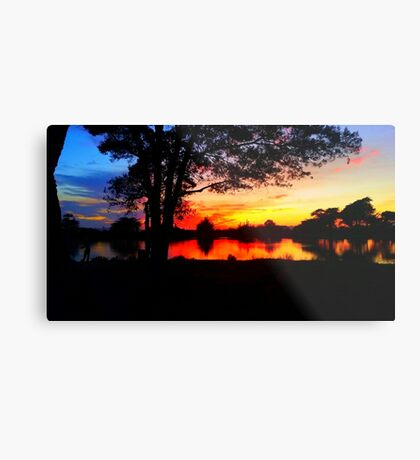 Twilight Aquatic  Metal Print