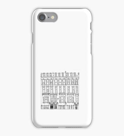 Small Quaint Apartment Building iPhone Case/Skin