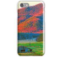 EVENING,CADES COVE iPhone Case/Skin