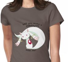 kyubey Womens Fitted T-Shirt