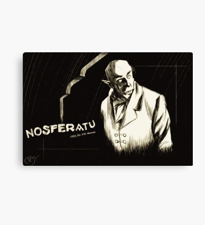 Nosferatu, eine Symphonie des Grauens Canvas Print