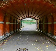 Red Tunnel by Legend  Photography