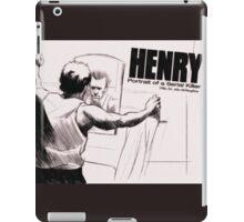 Henry: Portrait of a Serial Killer iPad Case/Skin