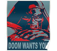 Doom Wants You Poster