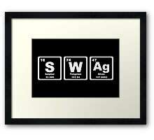 Swag - Periodic Table Framed Print