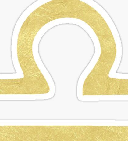 Libra Symbol Sticker