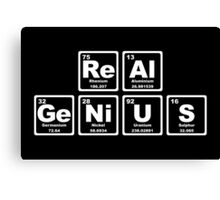 Real Genius - Periodic Table Canvas Print