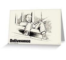 Deliverance- duelling banjos Greeting Card