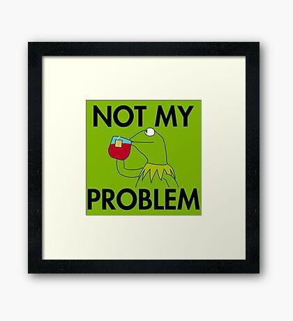 Kermit Tea Framed Print