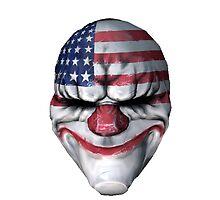 Payday 2 Dallas Mask by robkillsyou