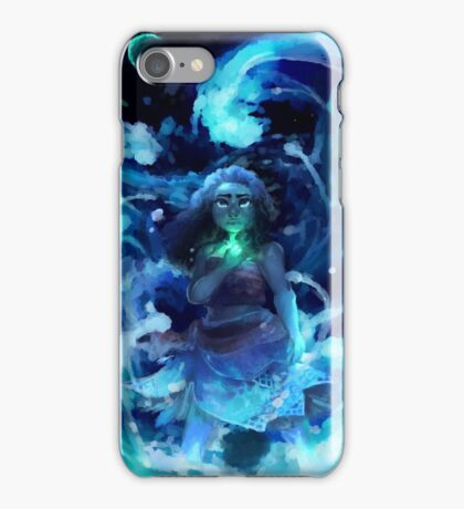 A Girl Who Loves the Sea iPhone Case/Skin