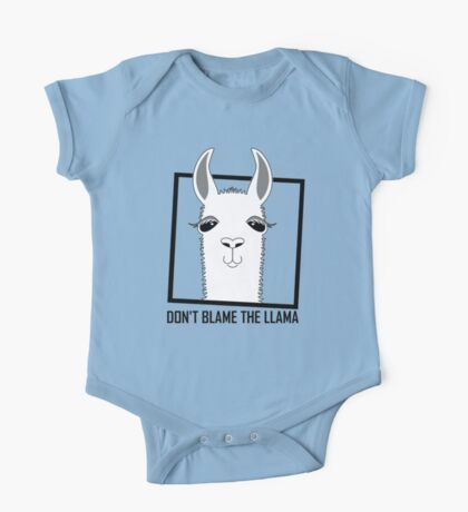 DON'T BLAME THE LLAMA One Piece - Short Sleeve